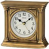 Seiko Plastic Desk Clock (Antique Gold)