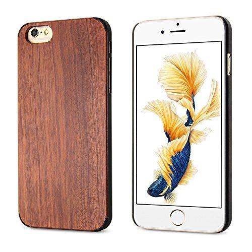 "BELK Apple iPhone 6 / 6S Case - ARTISAN MASTERWORK [carapace dure Series] Natural ""Plank"" Bamboo Slim Case-forme dur Bouclier de Couverture pour Apple iPhone 6 & iPhone 6S (4.7 "") PC + Mahogany"