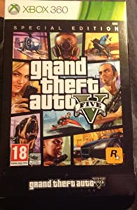 Grand Theft Auto V Special Edition Xbox 360 Game by Rockstar Games