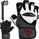RDX Levantamiento de pesas guantes gimnasio CrossFit entrenamiento...