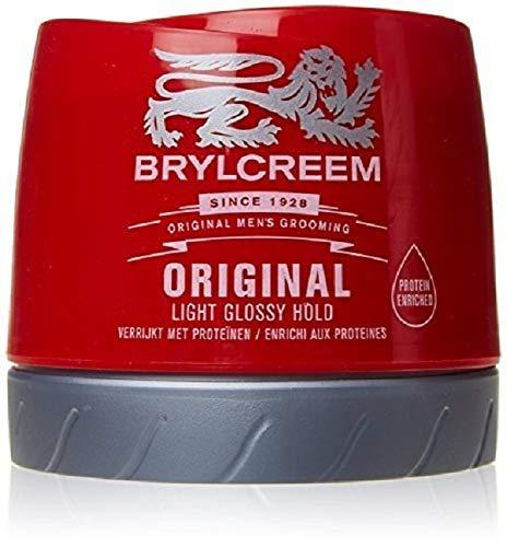 Brylcreem Aqua-Oxy Hair Styling Cream, Original Nourishing, 250 ml