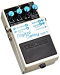 BOSS DD-7 Digital Delay, a guitar effects pedal that takes the best features from its predecessors and expands their creative potential. You get Modulation Delay mode, classic modeled Analog Delay mode, External pedal control options, longer delay ti...
