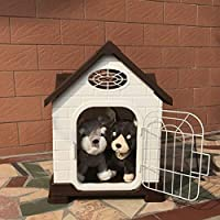 Casa Nido de Mascotas Casa de Animales domésticos de Gama Alta Perro pequeño de plástico al