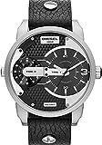 Diesel Herren-Armbanduhr XL Analog Quarz Leder DZ7307