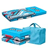 Ready Steady Bed Racer Design Children's Folding Playpen Mattress and Playmat