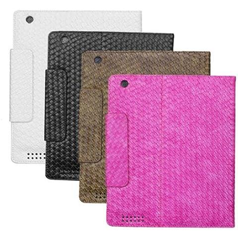 Clásico patrón de punto funda protectora para el iPad 3 envío aleatorio.