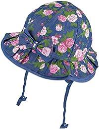 TuTu by Galeja Mädchen Sonnenhut 100% BW Sommerhut 3 Farben Größe 46-48 und 50-52 Kindermütze