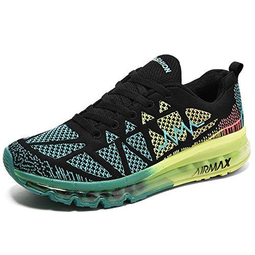 YIRUIYA Outdoor Sport Walking Shoes Gym Jogging Shoes For Men Orange
