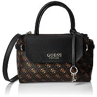 GUESS Women's Satchel Handbag, Brown - SG758205
