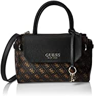 GUESS Womens Esme Satchel Handbag