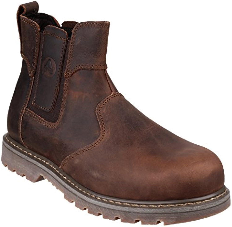 Amblers Mens  Womens FS165 Leather Slip Resistant Safety Dealer BootsAmblers FS165 SAFETY