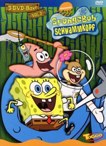 SpongeBob Schwammkopf - 3er Box, Vol. 02 [3 DVDs] (Spongebob Schwammkopf Dvd-box)