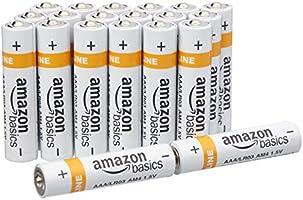 AmazonBasics Alkalibatterien, AAA, 20 Stck