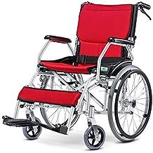 Sillas de ruedas manuales, brazos de longitud de escritorio y reposapiés elevables para mayor comodidad