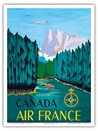 canada-air-france-vintage-airline-travel-poster-by-jean-dore-c1951-reproduction-professionelle-dart-