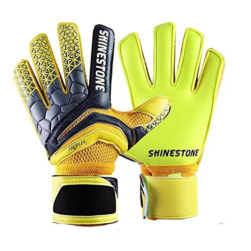 gloves Erwachsene Fußballhandschuhe/professionelle Torwarthandschuhe für Kinder/Dicke, Rutschfeste Latexhandschuhe, Größe: 7 Anzahl: 17-18 cm