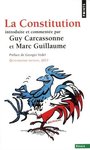 La Constitution par Guy Carcassonne