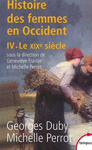 Histoire des femmes en Occident, tome 4 : Le XIXe sicle