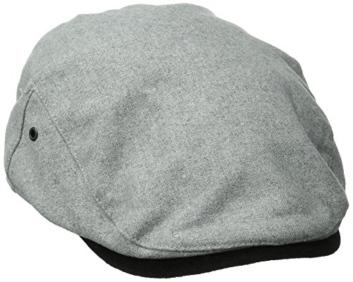 san-diego-hat-co-mens-wool-driver-hat-with-velvet-under-brim-grey-one-size