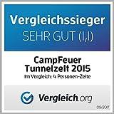 CampFeuer – Tunnelzelt 4P Mod. 2015 - 2