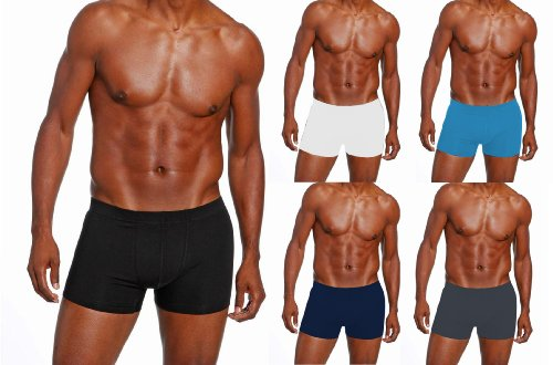 5-x-mens-angelo-litrico-assorted-boxer-shorts-all-sizes-cotton-lycra-assorted-30-32