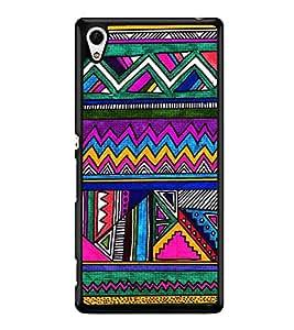 HiFi High Glossy Designer Phone Back Case Cover Sony Xperia Z3+ :: Sony Xperia Z3 Plus :: Sony Xperia Z3+ dual :: Sony Xperia Z3 Plus E6533 E6553 :: Sony Xperia Z4 ( Colorful Pattern Design Triangle )