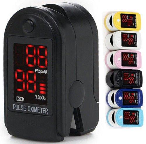 CONTEC Finger Pulse Oximeter Spo2 Fingertip Oxygen Monitor