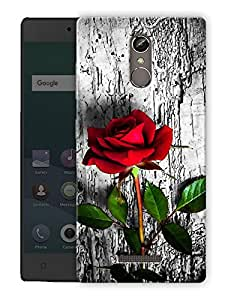 """Ulta Anda Roses In Wild Printed Designer Mobile Back Cover For """"Gionee S6S"""" (3D, Matte Finish, Premium Quality, Protective Snap On Slim Hard Phone Case, Multi Color)"""