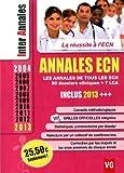 Annales ECN 2004-2013 - Les annales de tous les ECN, 90 dossiers cliniques + 7 LCA