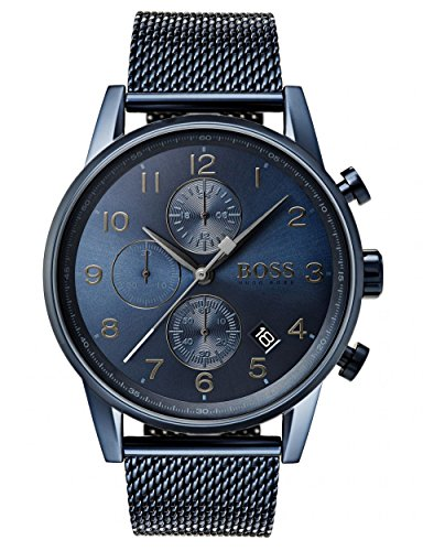 HUGO BOSS Men's Chronograph Quartz Watch with Stainless Steel Bracelet – 1513538