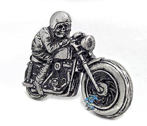 Biker Pin Todesfahrer Death Rider schwere leichte 3D Optik (Harley-davidson-namen)