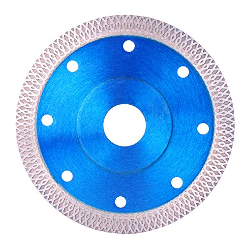 ExcLent 4.5 Inch Super Thin Diamond Circular Saw Blade Ceramic Porcelain Tile Cutting Blade (Tile Saw Blade 10)