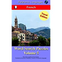 Parleremo Languages Word Search Puzzles Travel Edition French - Volume 5
