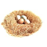 Bwogue 100g/3.5oz Natural Grass Nesting Pads for Chicken Hens Birds Nest Bedding