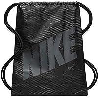 Nike Ba5262-022 Bolsa de Cuerdas para el Gimnasio, Negro (Nero/Cool Grigio)