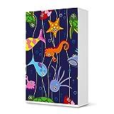 Möbel-Aufkleber Folie für IKEA PaxSchrank 236 cm Höhe - 3 Türen | Sticker Kinder-Zimmer dekorieren | Wohnideen IKEA Möbel für Kinder-Zimmer Dekor | Kids Kinder Underwater Life