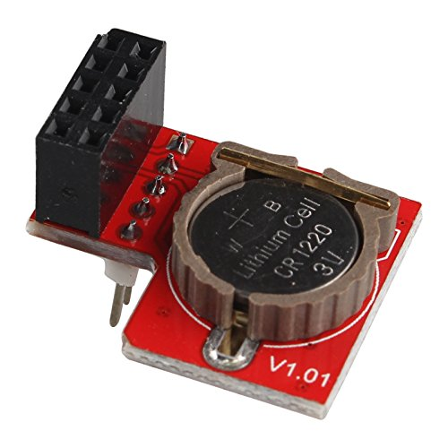 HALJIA I2C RTC DS1307 RTC Real Time Clock Module for Raspberry Pi Arduino Test