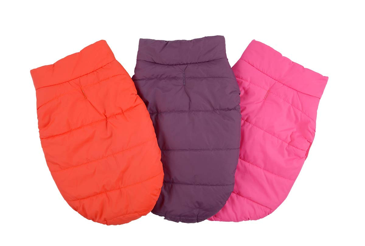 Kismaple Dog Cosy Fleece Jacket Winter Lined Coat Clothes Warm Padded for Small Medium Large Dogs 6