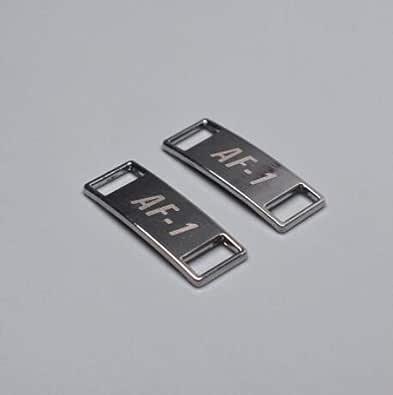 2pcs/pair Shoelace Buckle Metal Shoelaces AF1 Shoelaces buckle Accessories Metal Lace Lock DIY Sneaker Kits Metal Lace Buckle,2pcs