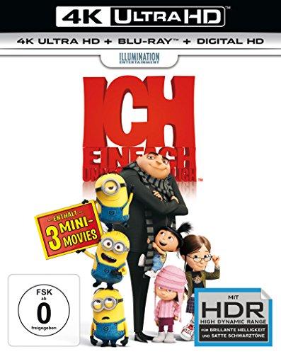 Ich: Einfach unverbesserlich - Ultra HD Blu-ray [4k + Blu-ray Disc]