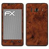 atFolix Huawei Ascend Y300 Skin FX-Wood-Root Designfolie Sticker - Holz-Struktur/Holz-Folie