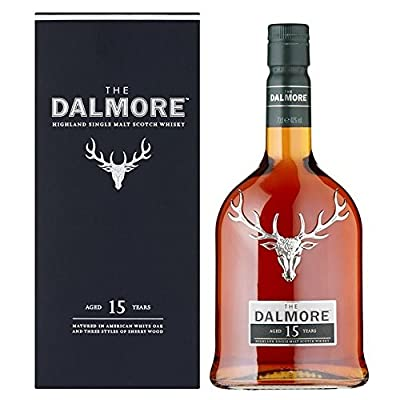 The Dalmore Whisky 15 Year Old Malt 70cl - (Pack of 2)