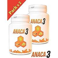 Anaca 3 - Anaca3 Perte de Poids - Gélules Minceur - Lot de 2 Boites de 90 Gélules