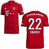 adidas FCB Heimtrikot 2018 2019 Herren Gnabry 22 Gr S