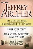 Buchinformationen und Rezensionen zu Die Clifton-Saga 1-3 von Jeffrey Archer
