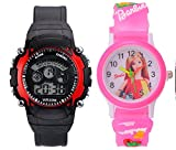 #8: BLUE DIAMOND Analogue-Digital Multicolor Dial Boy's & Girl's Watch - 1479692588