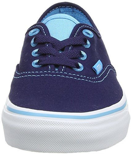 Vans Unisex-Erwachsene Authentic Sneakers Blau ((ClearEylts)Ecl FC7)