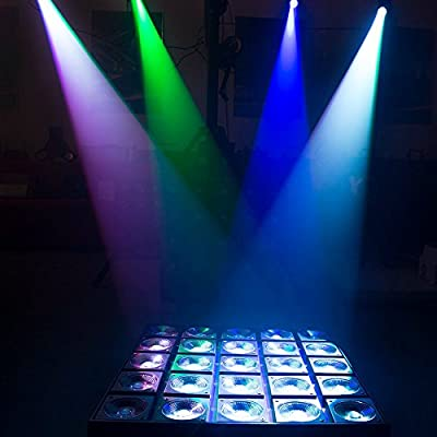 Donner Spotlight Stage Effect Pinspot LED Light DL-5 10W 6CH RGBW Auto / DMX DJ Lightning Control