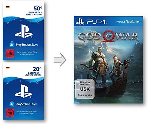 Produktbild PSN Guthaben Aufstockung für God of War 4 | PS4 Download Code - deutsches Konto