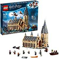 LEGO Harry Potter La Grande Salle du château de Poudlard 75954 Jeu de Construction
